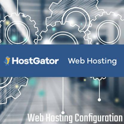 Host Gator Web Hosting Configuration